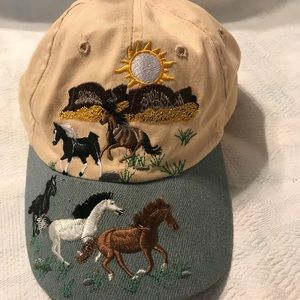 Horse lover baseball cap